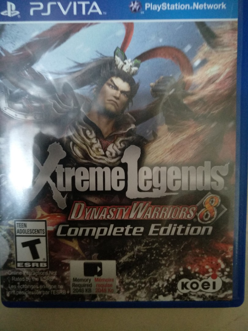 Dynasty Warriors 8 Xtreme Legends Complete Edition Toys Games Game Ps4 Photo
