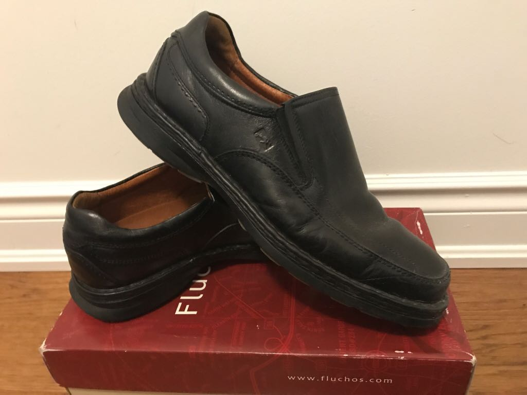 Fluchos Authentic Leather size 44 loafers for men. Great condition. Purchased in Spain. OBO