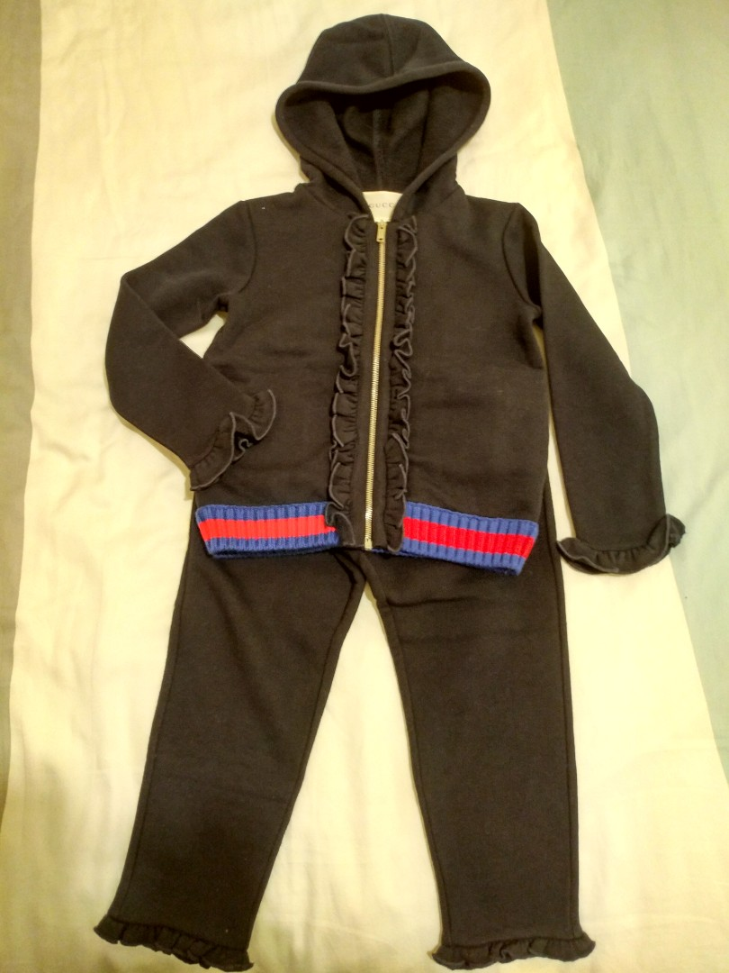 ec612599ae2 Gucci tracksuit set babies kids girls apparel on carousell jpg 810x1080 Gucci  tracksuit