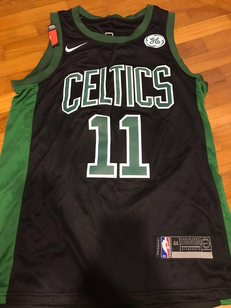 the best attitude c14e1 5bd47 Kyrie Irving Celtics Jersey (Black), Sports, Sports Apparel ...