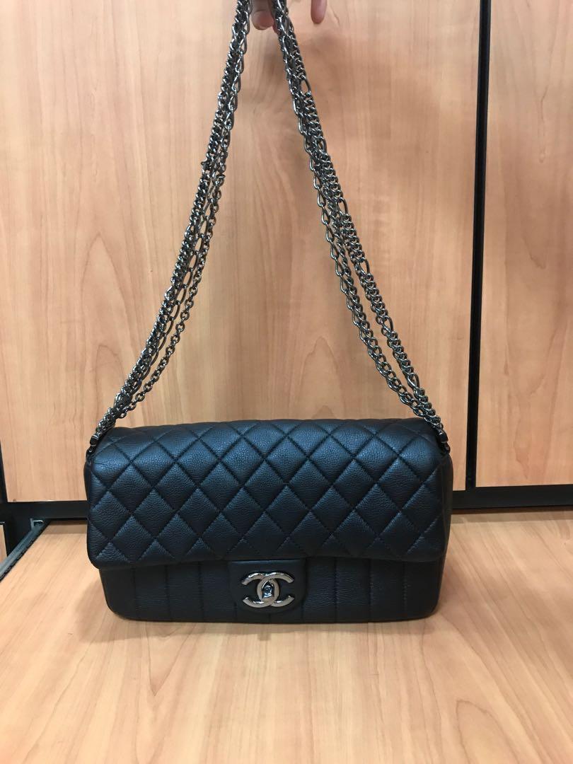 f34c7f533ca7 LNIB Chanel Coco Classic Flap Bag, Luxury, Bags & Wallets on Carousell