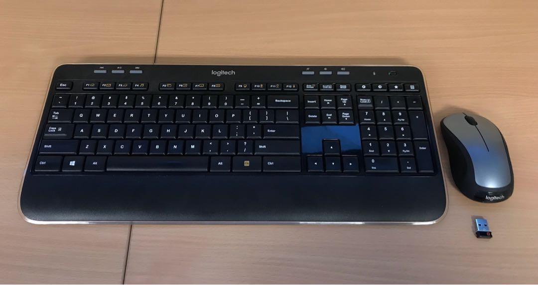 3b5ad2074e3 Logitech Wireless Keyboard and Mouse with USB receiver, Electronics ...