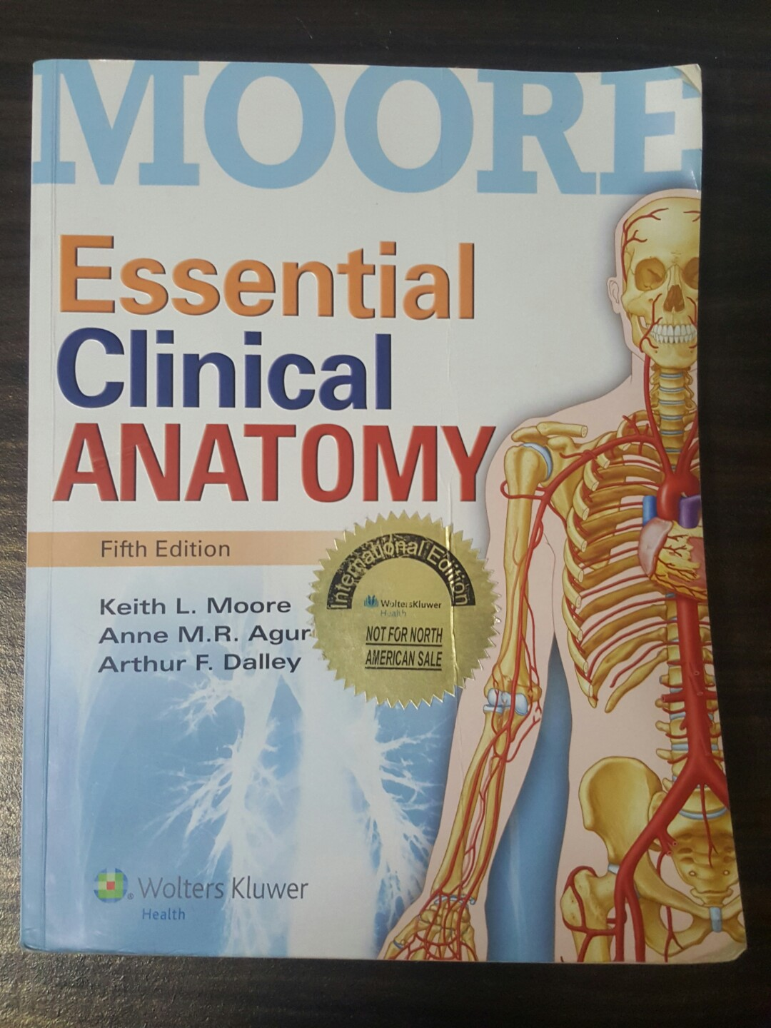 MOORE Essential Clinical Anatomy Fifth Edition, Textbooks on Carousell