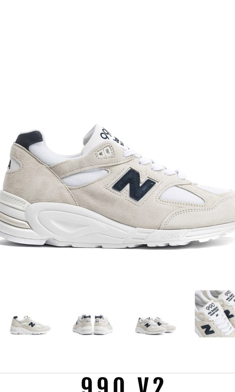differently 56f1c c2843 NEW BALANCE 990 v2 M990we2 v1 Adidas Yeezy air max off white ...