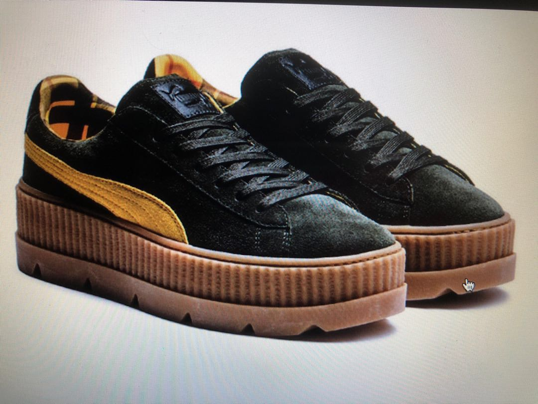 finest selection 2c06d fc0e8 NEW Puma x Rihanna Creeper FENTY