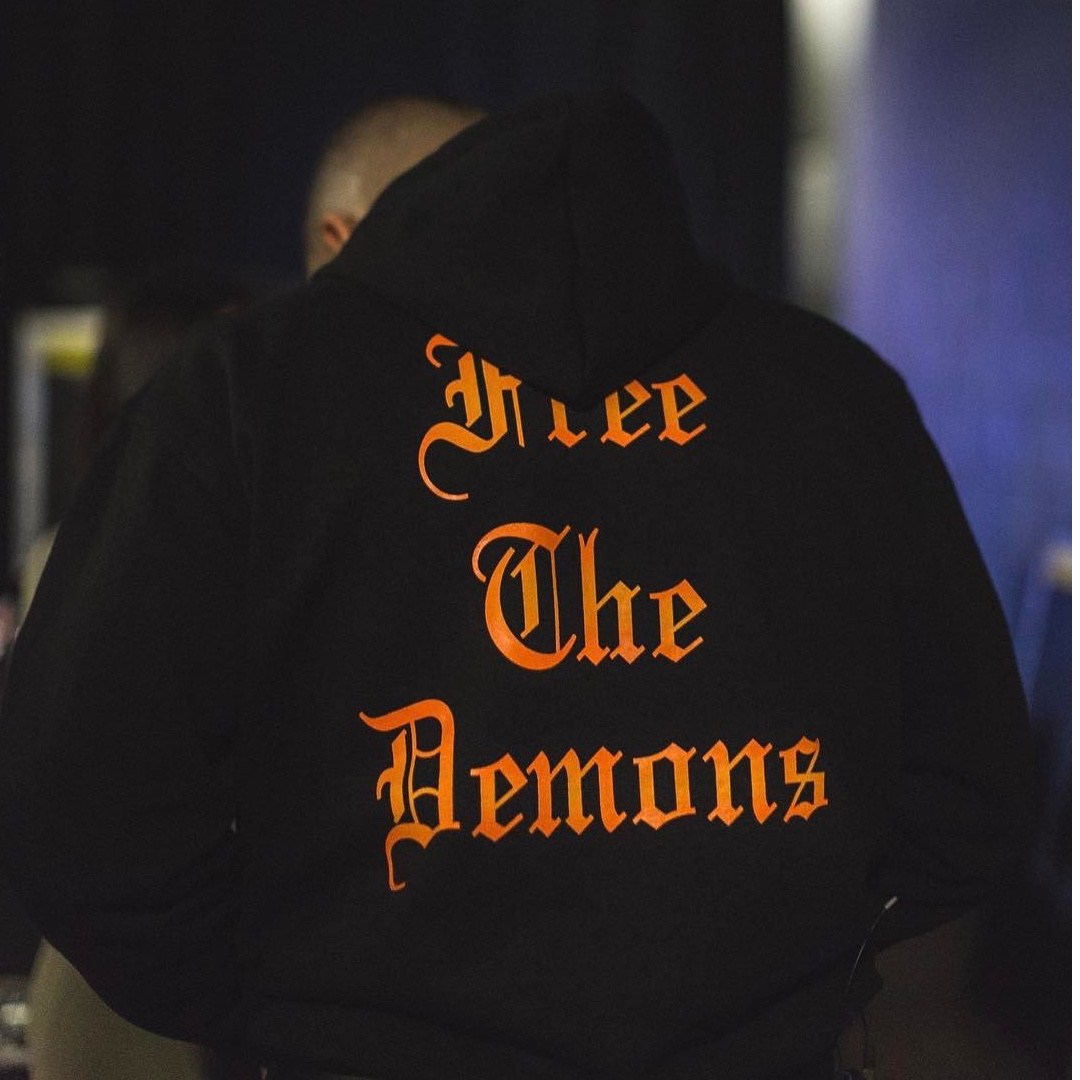"""OVO October's Very Own """"Free the Demons"""" Hoody (Small)"""