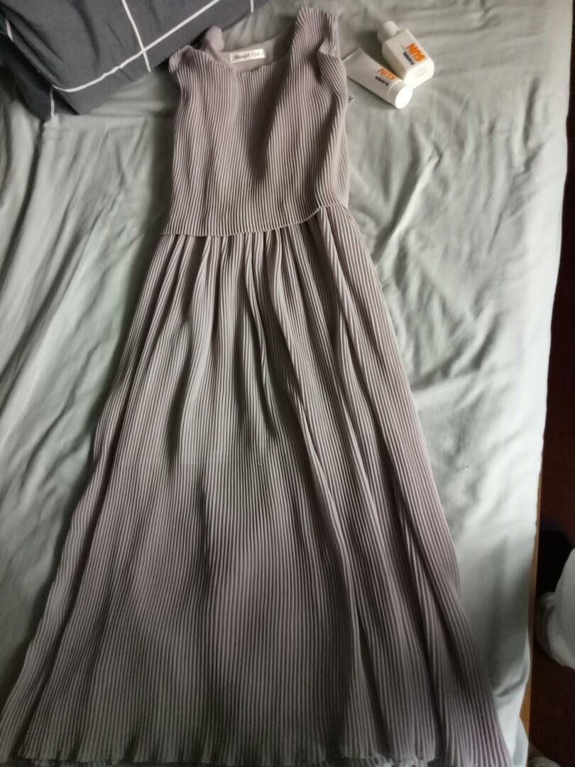Plisse dress Size 36/8/S