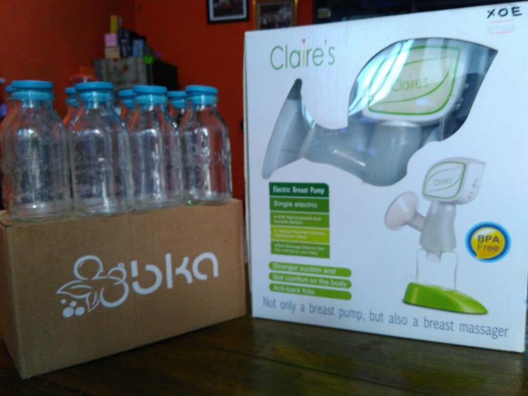 (SOLD) Pompa ASI Elektrik CLAIRE'S free Botol ASI BKA +++ (Preloved) --> NEGO, Babies & Kids, Others on Carousell