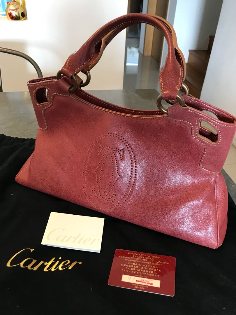 Pre-loved Cartier Marcello designer bag a81e6af645d7