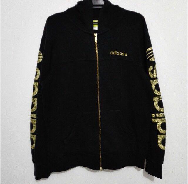 adidas label hoodie