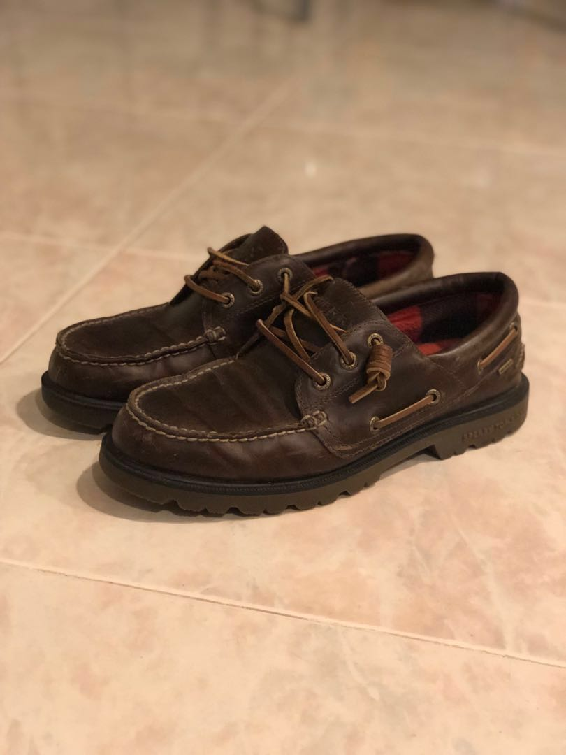 8c7a071a8 Sperry s Lug Sole 3-Eye Boat Shoes (US 8)