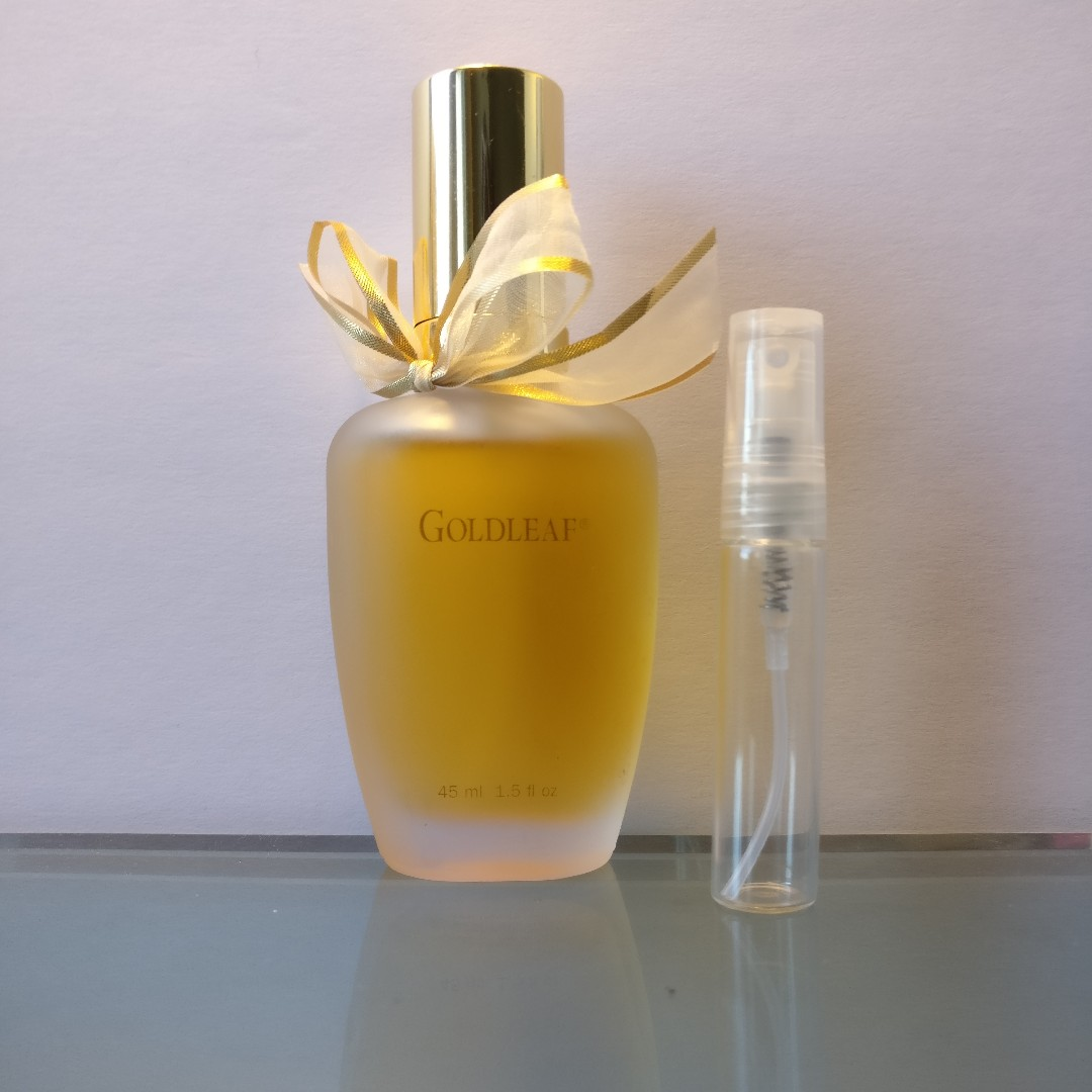 THYMES Goldleaf 5mL EDP Travel Sample Spray Atomizer or Roll-On Rollerball Vial