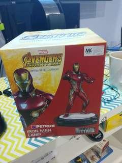 Petron Avengers Iron Man Die Cast Figure Lamp