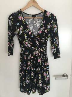Asos wrap dress