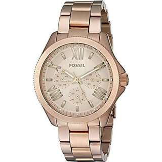 CECILE MULTIFUNCTION ROSE GOLD-TONE LADIES WATCH AM4634