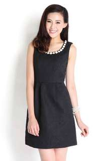 LIlyPirates Sparkly Night Dress in Black