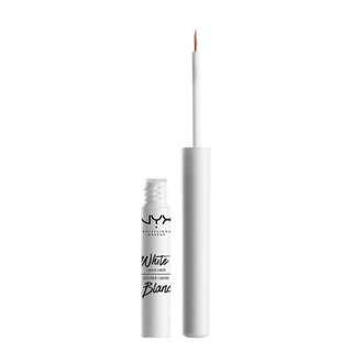 NYX Eyeliner Liquide Blanc In WLL01 White/Blanc