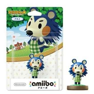 Nintendo Amiibo Animal Crossing Mabel Figure