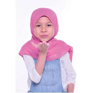 Shawl For Kids Dusty Pink