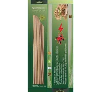 sandalwood organic incense 30pcs