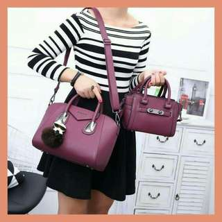 8616 GIVENCHY HANDBAG (3 IN 1)