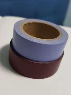 maroon/lilac washi tape!!
