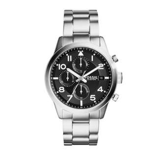 FOSSIL DAILY STAINLESS STEEL MEN'S WATCH FS5137