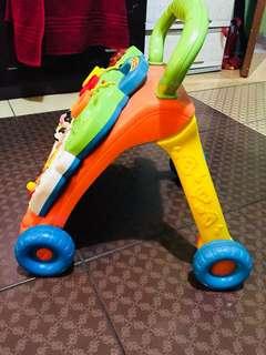 Graco stroller and Vtech learning walker