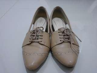 Hemera nude mini heels #horegajian