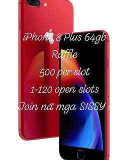 iPhone 8plus RED - RAFFLE