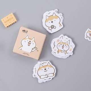 (PO) Witty Shiba Inu Stickers