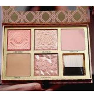 "BENEFIT Blush Bar ""cheeks on pointe"" bronzer & blush palette Featuring Gold Rush BRAND NEW & AUTHENTIC (NO SWAPS, Price is Firm)"