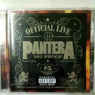 PANTERA OFFICIAL LIVE CD