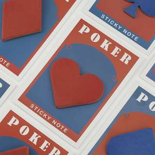 *INSTOCK* Poker Card Post-its /sticky note
