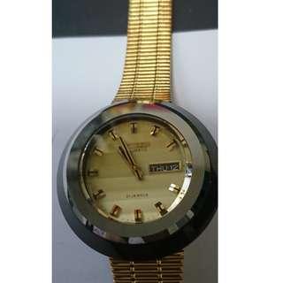 古董星辰 CITIZEN 星期日曆自動機械錶