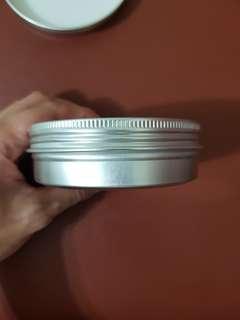 Aluminium tin container 100ml