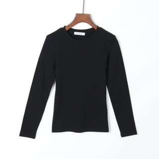 Black / dark blue Long Sleeve Top