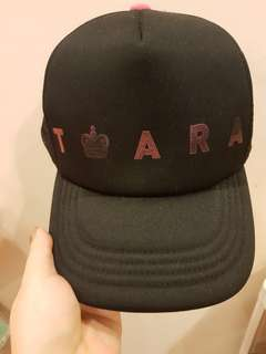 Tara Black Cap / Hat