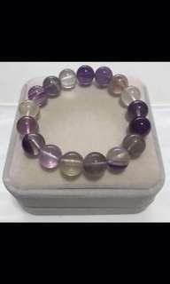 Ametrine bracelet - 紫黄晶手串