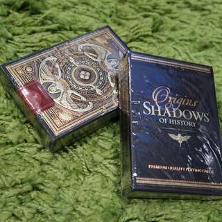 Shadow of History playing cards (Shadows deck)