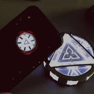 Iron man iPhone 發光手機殻