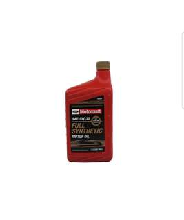 Motorcraft 5w30 fully synthetic engine oil