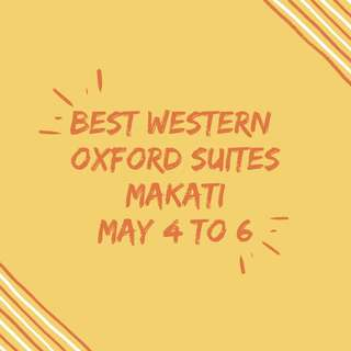 3D2N Best Western Oxford Suites
