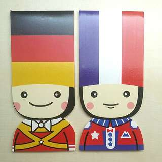 [LARGE DISCOUNT] Country Notebook Set, German and French Soldier Notebooks