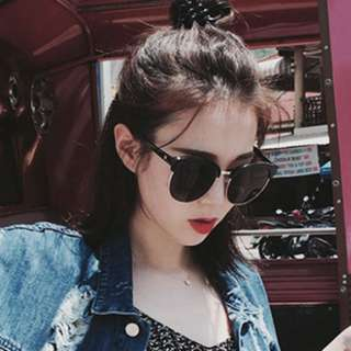 INSTOCKS oversized sunglasses shades sunnies - black