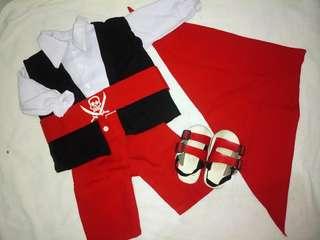 Pirate Costume (Head-Toe Set)