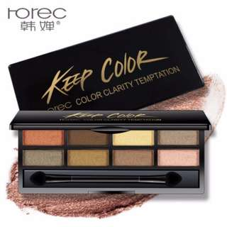 ROREC Keep Color Clarity Temptation Eyshadow  #20under