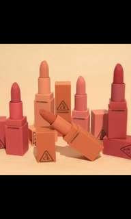 (Preorder) 3CE mood recipe matte lip colour