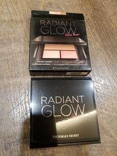 Authentic Brand new Victoria's Secret Radiant Glow face trio makeup