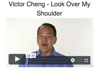 Victor Cheng look over my shoulder